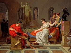 Cleopatra and Octavian, 1787-88 by Louis Gauffier