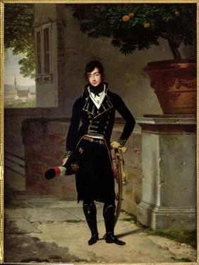 Portrait of an Officer of the Cisalpine Republic, 1801 by Louis Gauffier