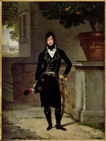 Portrait of an Officer of the Cisalpine Republic, 1801