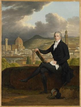 Portrait of Dr. Thomas Penrose, 1798 by Louis Gauffier
