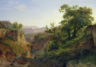 A Valley Near Sorrento, 1854