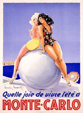 Monte Carlo, Quelle Joie by Louis Icart