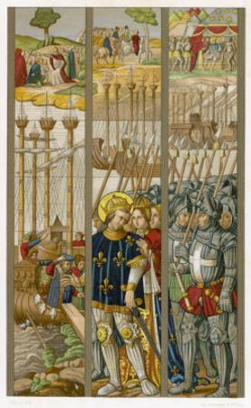 Louis IX Embarks for the Crusades at Aigues Mortes Sailing First to Cyprus