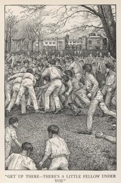 At Rugby School Rugby Football as Played at Rugby School by Louis John Rhead