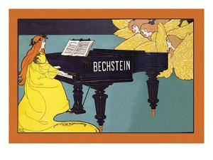Bechstein - Hark the Angels by Louis John Rhead