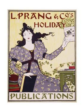 L. Prang and Co.'s Holiday Publications Poster by Louis John Rhead