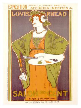 Salon des Cent by Louis John Rhead
