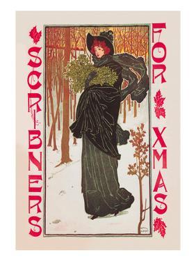 Scribner's for Xmas by Louis John Rhead