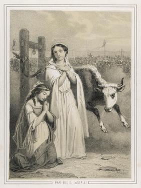 Saint Perpetua by Louis Lassalle