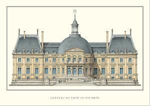 Chateau de Vaux-le-Vicomte, Maincy by Louis Le Vau