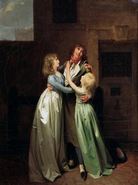 A Mournful Parting, 1780S by Louis Leopold Boilly