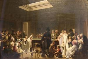 Game of Billiards, 1807 by Louis Leopold Boilly