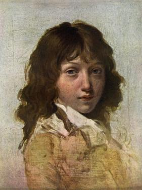 Head of a Boy, Early 19th Century by Louis Leopold Boilly