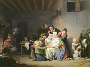 The Game of Pied De Boeuf, C.1824 by Louis Leopold Boilly