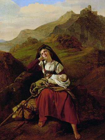 The Unhappy Mother, 1834