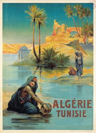 Algerie Tunisie by Louis Lessieux