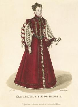 Elisabeth, Daughter of Henri II by Louis-Marie Lante