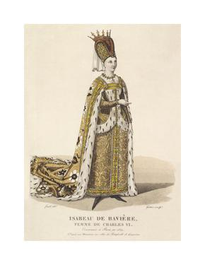Isabeau de Baviere, Wife of Charles VI by Louis-Marie Lante