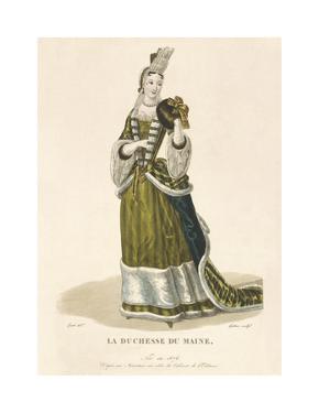 La Duchesse du Maine by Louis-Marie Lante