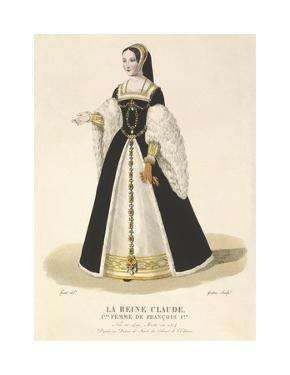 La Reine Claude, 1st Wife of Francois I by Louis-Marie Lante