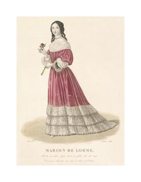 Marion de Lorme by Louis-Marie Lante