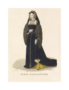 Mary of England by Louis-Marie Lante