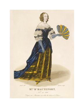 Mlle d' Hautefort by Louis-Marie Lante