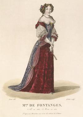 Mlle de Fontanges by Louis-Marie Lante