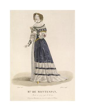Mme de Montespan by Louis-Marie Lante