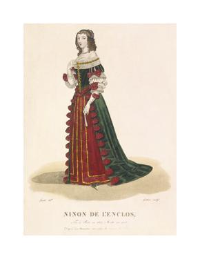 Ninon de l'Enclos by Louis-Marie Lante