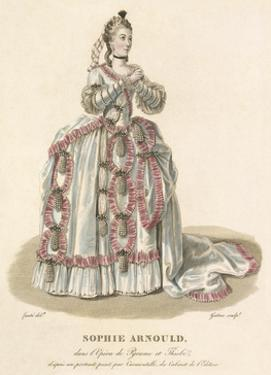 Sophie Arnould by Louis-Marie Lante