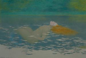 Sirene-Mermaid,1895 by Louis-Maurice Boutet De Monvel
