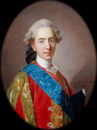Louis-Auguste, Duc De Berry (1754-179), Future Louis XVI, King of France