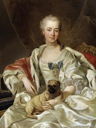 Portrait of Countess Ekaterina Golitsyna, 1759