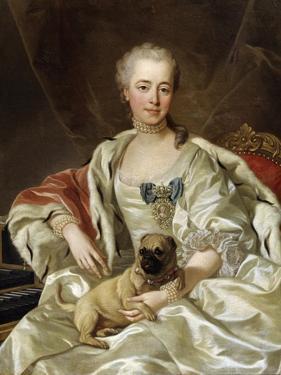 Portrait of Countess Ekaterina Golitsyna, 1759 by Louis Michel Van Loo