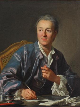 Portrait of Denis Diderot, 1767