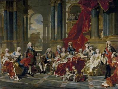 The Family of Philip V, King of Spain, 1743