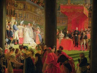 The Marriage of Marie-Caroline De Bourbon