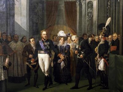Visit of Prince of Salerno, Leopold of Bourbon to French Institute