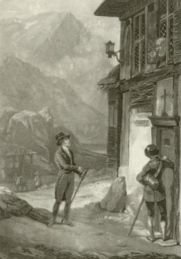 Louis Philippe at the Hospitium on Mount St. Gothard