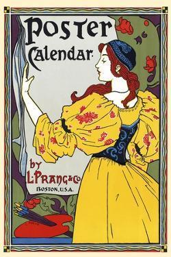 Poster Calendar. by Louis Rhead