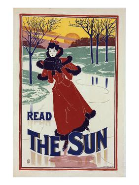 Read the Sun - Poster by Louis Rhead