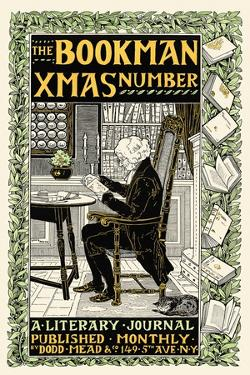 The Bookman Xmas Number by Louis Rhead