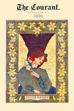 The Courant. 1896 Easter Number by Louis Rhead