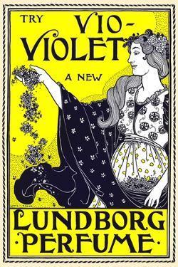 Try Vio-Violet, a New Lundborg Perfume by Louis Rhead
