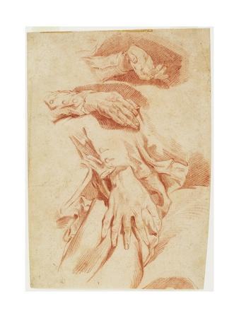 Studies of Hands, 1770s-1780s