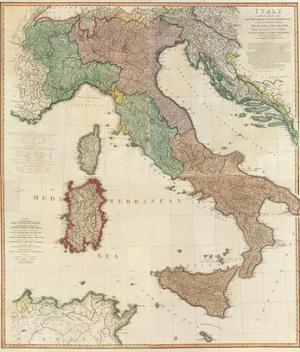Composite: Italy, c.1800 by Louis Stanislas D'arcy De La Rochette