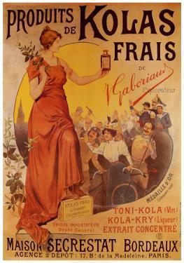 Produits de Kolas Frais by Louis Tauzin