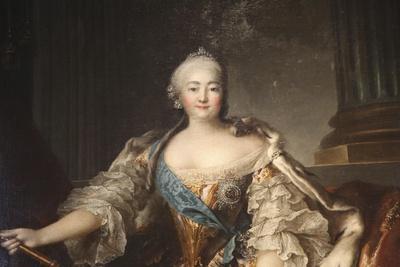 Portrait of the Empress Elizabeth Petrovna, 1758