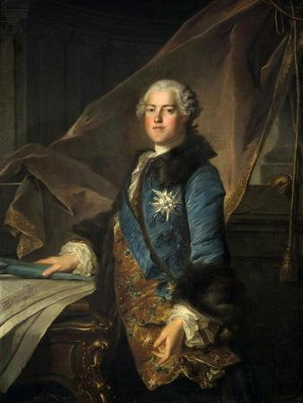 Portrait of the Marquis of Marigny, 1755
